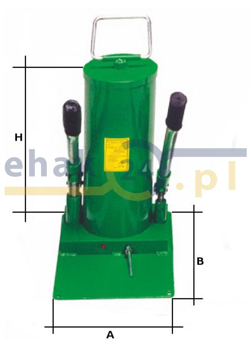 Wspaniały Pompa hydrauliczna ręczna DW15