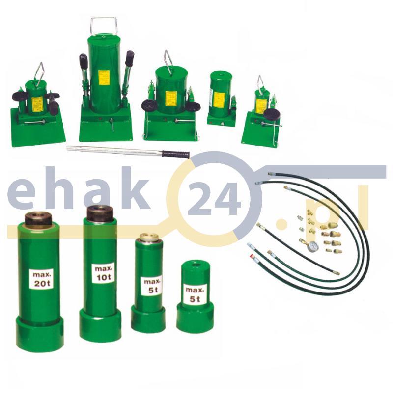 Bardzo dobra Zestaw siłownik hydrauliczny standard z pompą i akcesoriami IS83